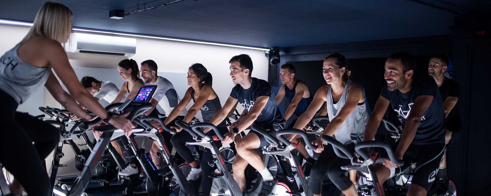 Salle indoor cycling